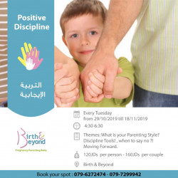 Positive Discipline For Toddlers / October 2019