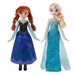 Frozen Doll 2 Models Ana or Elsa Hasbro Original