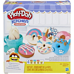 Play-Doh Kitchen Creations - Delightful Donuts Play Food Set