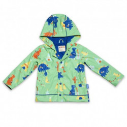 Penny Scallan Raincoat Dino Rock, Size 3-4