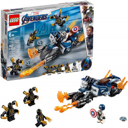 LEGO Superheroes Captain America: Outriders Attack