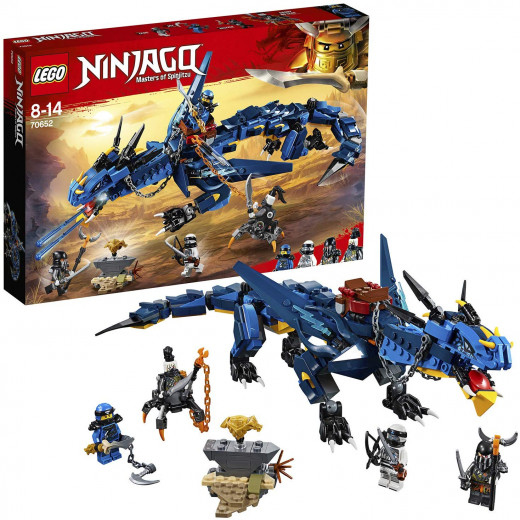LEGO Ninjago Stormbringer Dragon Toy, Masters of Spinjitzu Action Figure