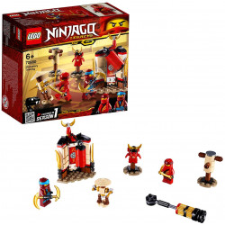 LEGO Ninjago Monastery Training Includes Kai and Nya Minifigures Building Set, 122 pieces