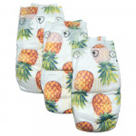 Pure Born - Organic Nappy Size 5, Pineapple Print, 11-18 Kg, 22 Nappies