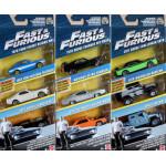 Mattel - Fast & Furious 8 Die-cast Car (3-Pack) - Assorted