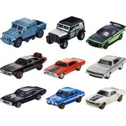 Mattel - Fast & Furious 8 Die-cast Car (3-Pack) - Assorted