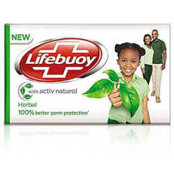 Lifebuoy Herbal - Soap Bar with Naturol
