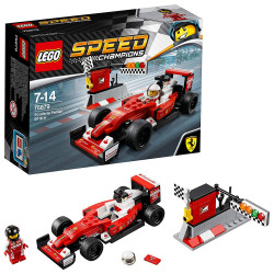 LEGO Speed Champions Scuderia Ferrari SF16-H Building Blocks Car for Kids 7 to 14 Years (184 Pcs)