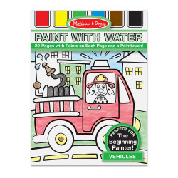 Melissa & Doug Paint With Water - Vegicles