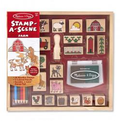 Melissa & Doug Stamp-A-Scene Farm
