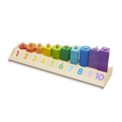 Melissa & Doug Counting Shaoe Stacker