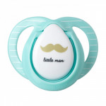 Tommee Tippee Moda Soother, 0-6 months, Blue