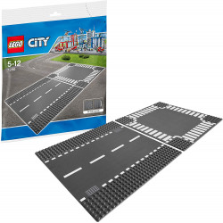 LEGO City Supplementary Straight and Crossroad