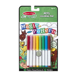 Melissa & Doug On The Go Magic Pattern Pad  - Pets