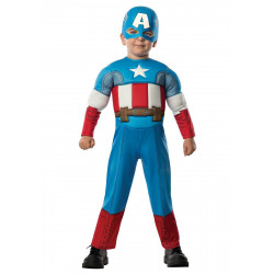 Rubie's Captain America Costume Boy Toddler (2-4 years)