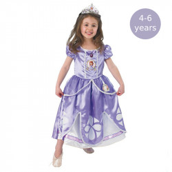 Rubie´s Kids World Book Day Girls Princess Sofia Deluxe Childs Fancy Dress Costume, 4-6 years