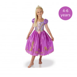 Rubie´s Disney Rapunzel Girls Shimmer Princess Costume, 4-6 years