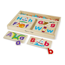 Melissa & Doug ABC Picture Boards