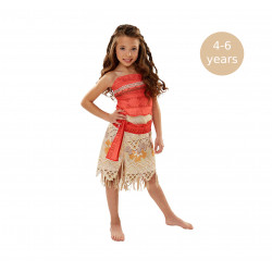 Rubie´s Moana Girls Adventure Outfit, 4-6 years