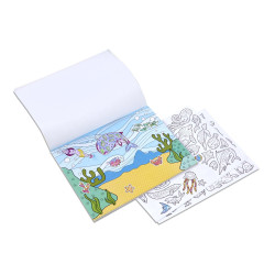 Melissa & Doug Color-Your-Own Sticker Pad - Animals