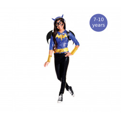 Rubie´s Costume Kids DC Superhero Girls Deluxe Batgirl Costume, 7-10 years