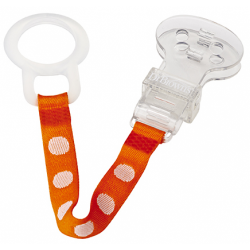 Dr. Brown's Pacifier Clip - Orange