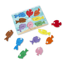 Melissa and Doug Fish Chunky Puzzle