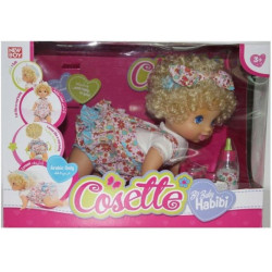 BH Active - Cossette- BABY CRAWLING DOLL- English