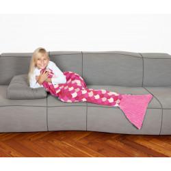 The Sirena Kids Fleece mermaid  blanket