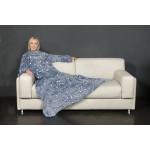 KANGURU Deluxe GLOW Fleece Blanket With Sleeves