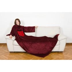 KANGURU Deluxe Passion Fleece Blanket With Sleeves