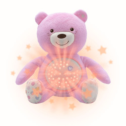 Chicco Baby Bear Doll - Pink
