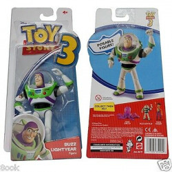 "Disney Toy Story Doll 5.5"" Buzz Light year Space Wings Posable Action Figure"