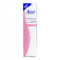 Nair Hair Removal Cream With Cotton Seed Oil For Bikini & Underarm 90ml