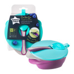 Tommee Tippee Easy Scoop Feeding Bowls With Lid and Spoon