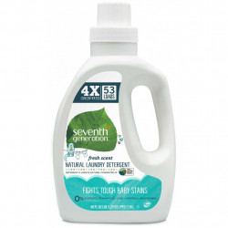 Seventh Generation Concentrated Baby Laundry Detergent, Fresh Scent 1.18 L