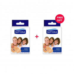 Septona Plasters Family, 20 Pieces - White Friday Offer - Buy 1 Get 1 Free