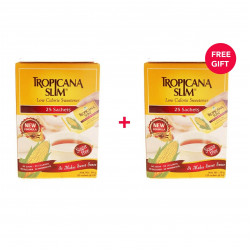 Tropicana Slim Low Calorie Sweetener 25pc - White Friday Offer - Buy 1 Get 1 Free