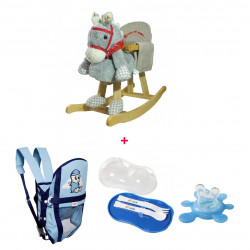 aBaby - Wooden Horse Second Offer, Including 4 Items