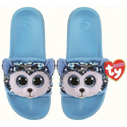 Ty Fashion Sequin Pool Slides Slush Husky L