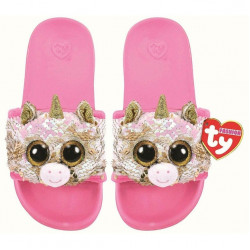 TY Fantasia - Sequin Pool Slides Small (11-13)