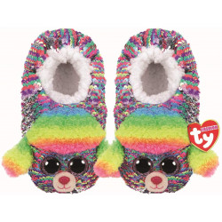 Ty Rainbow - Sequin Slippers sml