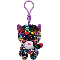 TY Flippables Dotty Clip 3""