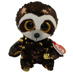 TY Flippables Sequin Plush - DANGLER the Sloth (Regular Size - 6 inch)