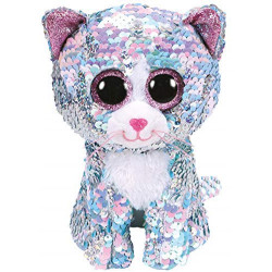 Ty - Beanie Boos - Flippables Whimsy Blue Cat /toys