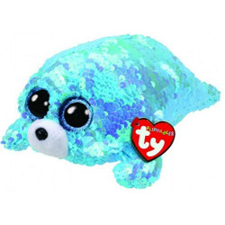 "Ty Beanie Flippables New 6"" Wave, Perfect Plush!"