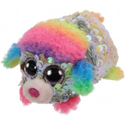 Ty Rainbow Sequin Poodle
