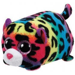 Ty Teeny Tys Jelly the Multicolor Leopard Plush
