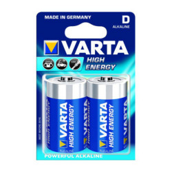 Varta High Energy D Cell 1.5v LR20 Alkaline Battery
