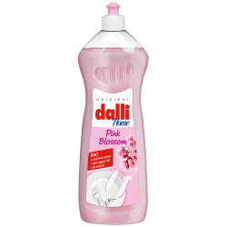 Dalli Pink Blossom Dishwashing Liquid Pink Flower 1L